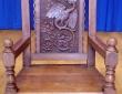Eistddfod Chair Leeswood 1921 - Made in Leeswood