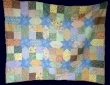 Patchwork Quilt by Cynthia Flitcroft