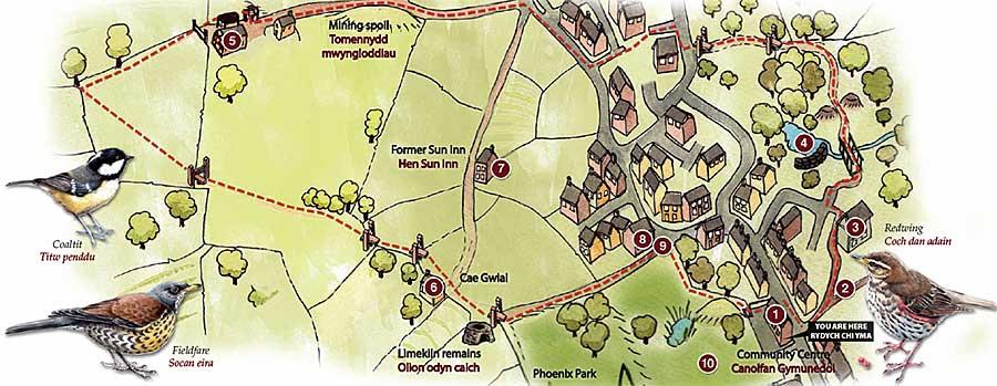 Leeswood Heritage Walk